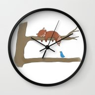 Upstairs  Wall Clock