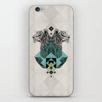 Blue Leopard iPhone & iPod Skin