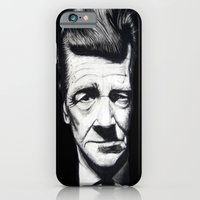 iPhone & iPod Case featuring David Lynch by Black Neon