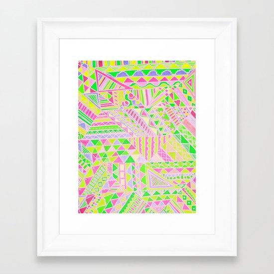 Wild One Four Framed Art Print