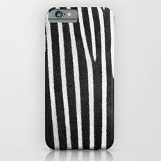 Zebra Stripes & Back iPhone 6s Slim Case
