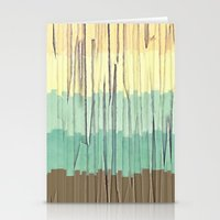 Shreds of Color 2 Stationery Cards
