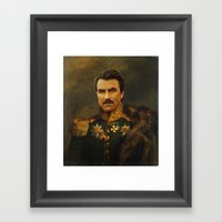 Tom Selleck - Replacefac… Framed Art Print