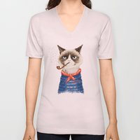 Sailor Cat V Unisex V-Neck