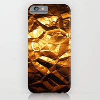 iPhone & iPod Case featuring Golden Wrapper by Amdis Rain
