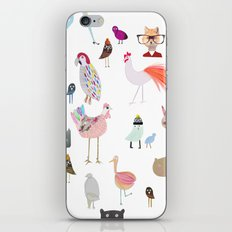 Animal collection iPhone & iPod Skin