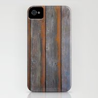 Rustic Wood Panel Boards… iPhone (4, 4s) Slim Case