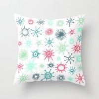 Heliozoa Throw Pillow