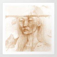 Otoño Art Print