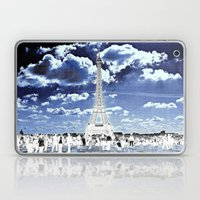 Tower Tourists In Revers… Laptop & iPad Skin