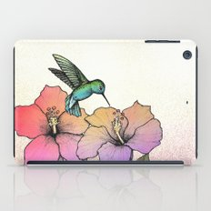 Hummingbird and Hibiscus iPad Case