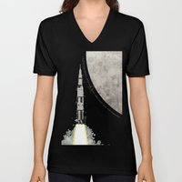 Apollo Rocket Unisex V-Neck