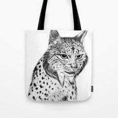 Iberian Lynx B/N Tote Bag