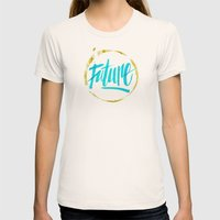 Future Womens Fitted Tee Natural SMALL