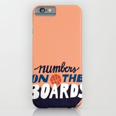 Numbers on the Boards iPhone 6s Slim Case