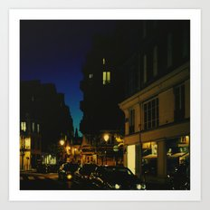 Paris by Night V Art Print