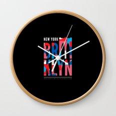 Brooklyn Bridge Remix // www.pencilmeinstationery.com Wall Clock