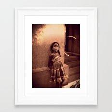 camille. Framed Art Print