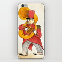 García, tuba iPhone & iPod Skin