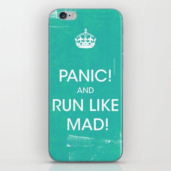 PANIC iPhone & iPod Skin
