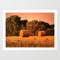 The Harvest Art Print