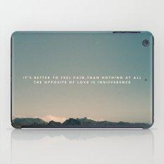 Stubborn Love iPad Case