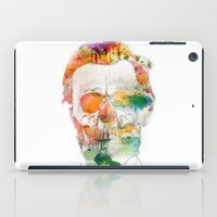 Abraham (Abe) Lincoln Skull Watercolor iPad Case