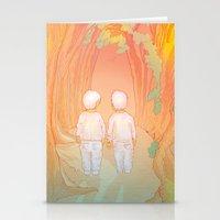Hansel-&-Gretel Stationery Cards