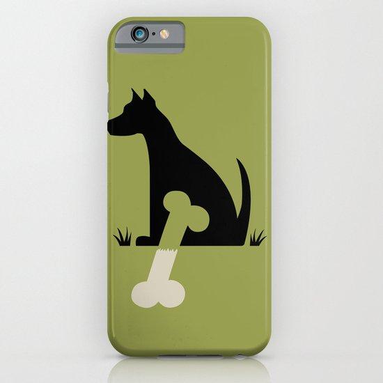 Gave a Dog a Bone (Green) iPhone & iPod Case