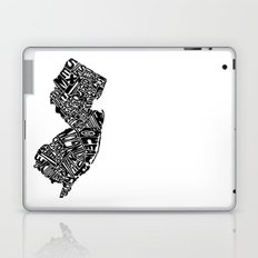 Typographic New Jersey Laptop & iPad Skin