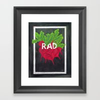 Rad Framed Art Print