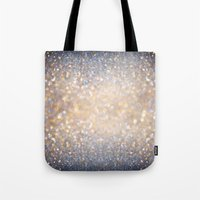 Glimmer of Light (Ombré Glitter Abstract) Tote Bag