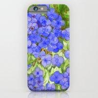 Hydrangeas iPhone 6 Slim Case