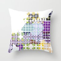 Spread Throw Pillow