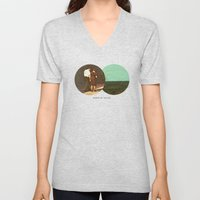Boring By The Sea | Coll… Unisex V-Neck