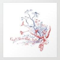 East Van Bike Polo Art Print