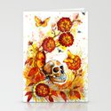 """Autumn sleep"" Stationery Cards"