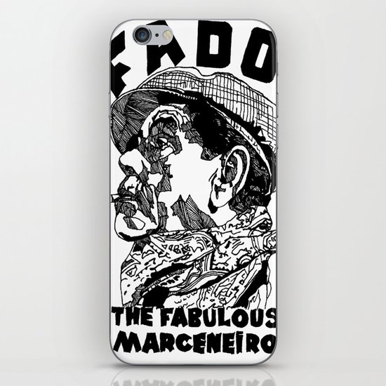 Fado Marceneiro iPhone & iPod Skin