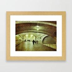 Passage Way  Framed Art Print