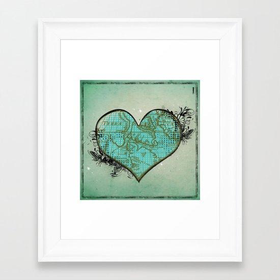 Heart #3 Framed Art Print