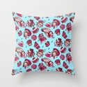 Pattern of the French Revolution Throw Pillow