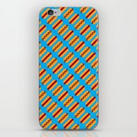 Pixel Hot Dogs iPhone & iPod Skin