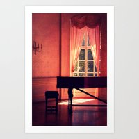 red room Art Print