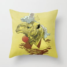 King of the Desert Throw Pillow