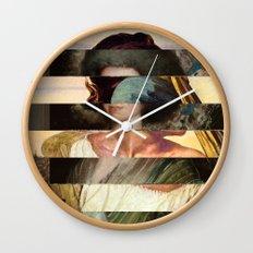 Mona´s Mix 5  Wall Clock