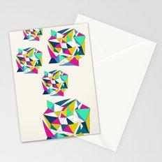 Geometric Worlds Stationery Cards