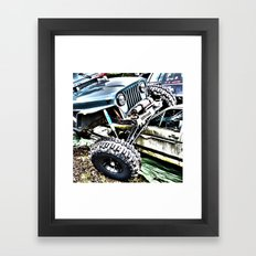 Offroad Framed Art Print