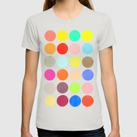 Colorplay 1 Womens Fitted Tee Silver SMALL
