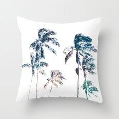Stellar Palms Throw Pillow
