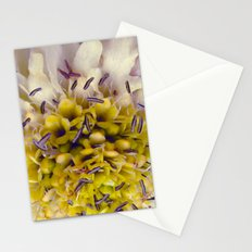 Flower Purple Yellow Stationery Cards